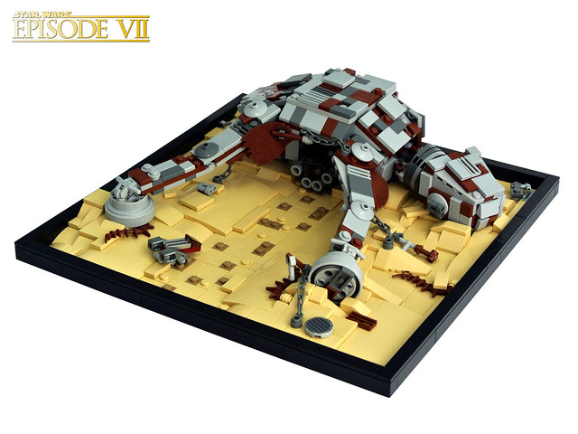 LEGO Star Wars MOC - AT-AT Hideout
