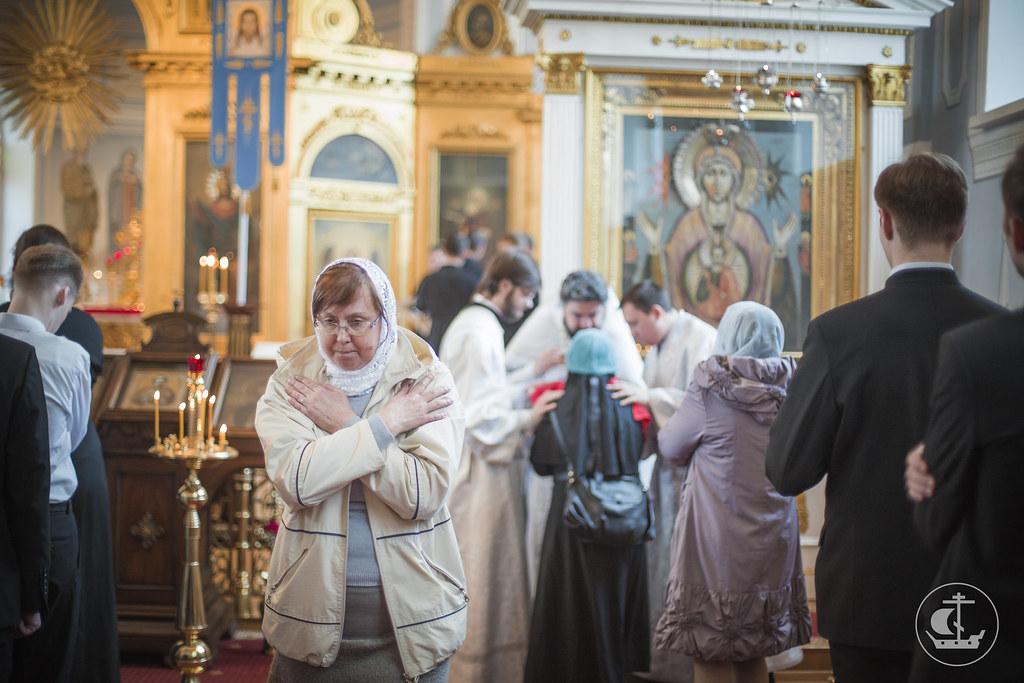 21 мая 2015, Вознесение Господне. Иоанн Богослов / 21 May 2015, The Lord's Ascension. John the Theologian