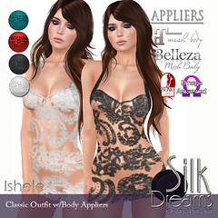 Silk Dreams Ishele Poster with Appliers