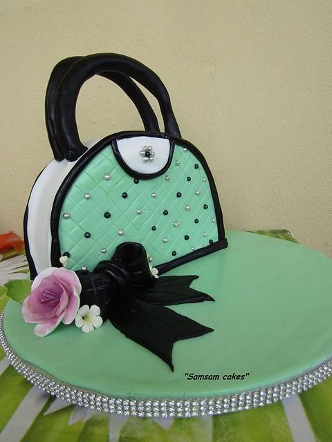 Handbag Cake by Samsam cakes