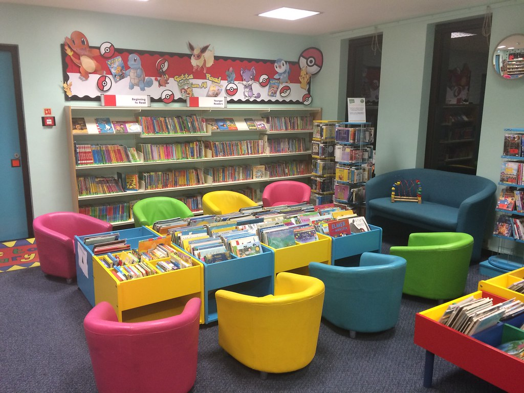 Flitwick Library, Children's Library, Central Bedfordshire