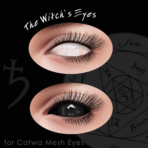 The Witch's Eyes - Appliers for Catwa Mesh Eyes - SecondLifeHub.com