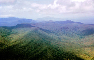 April 1975 - Looking SE towards Mount Cook, Cooktown & the Endeavour River, QLD