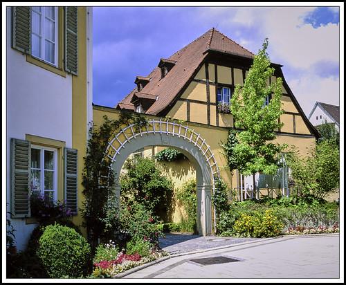 Bad Bocklet  -  Fachwerk -  (Caritas-Einrichtung)