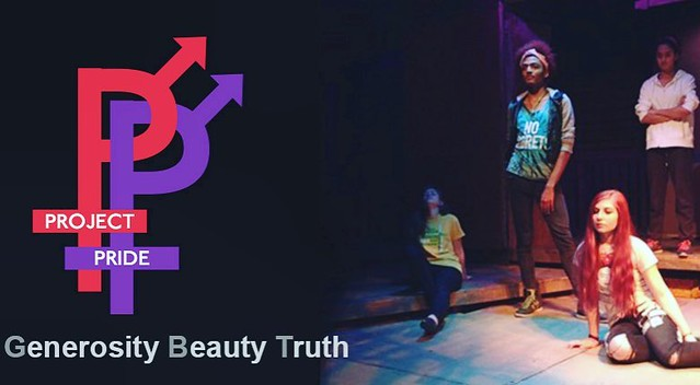 Want to be a part of Project Pride? audition tonight: Tuesday, November 1, 2016 7-8pm at The Coterie, level 1 of Crown Center Ages 13-18 (not yet graduated high school) No experience necessary. No preparation needed. LGBTQ and straight allied teens creati