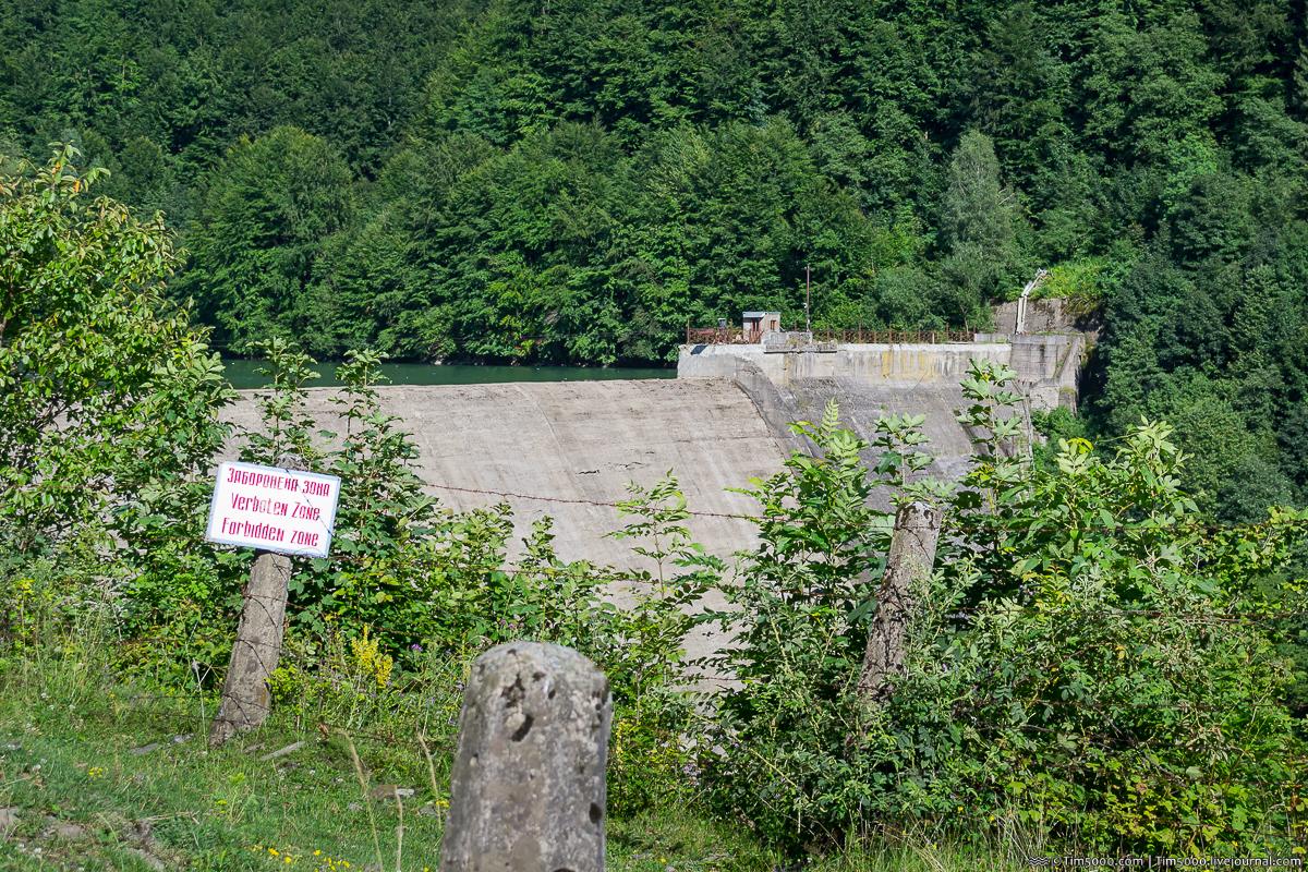 Теребле-Рикская ГЭС. Запрещенный объект в карпатских горах