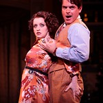 Jessica Stone and Troy Britton Johnson in the Huntington Theatre Company's revival of <i>She Loves Me</i> playing at the Boston University Theatre. Part of the 2007-2008 season. Photo: T. Charles Erickson.