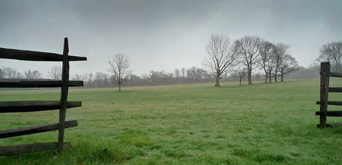 Princeton Battlefield in the rain by Dalliance with Light