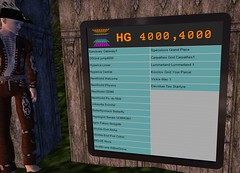 Hypergrid teleport board on Pathlandia