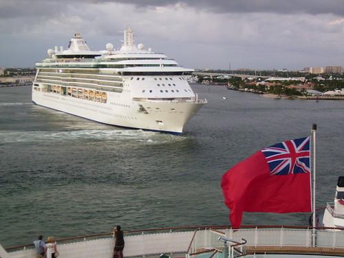 Royal Caribbean cruise ship in Florida by gillsphotobox