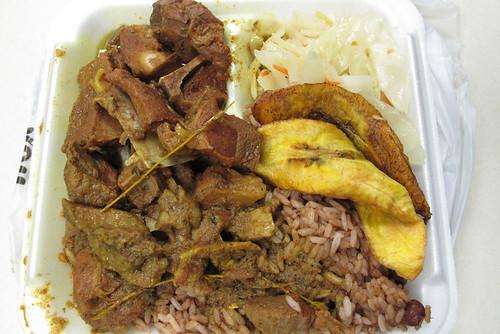 jamaican dutchy curry goat