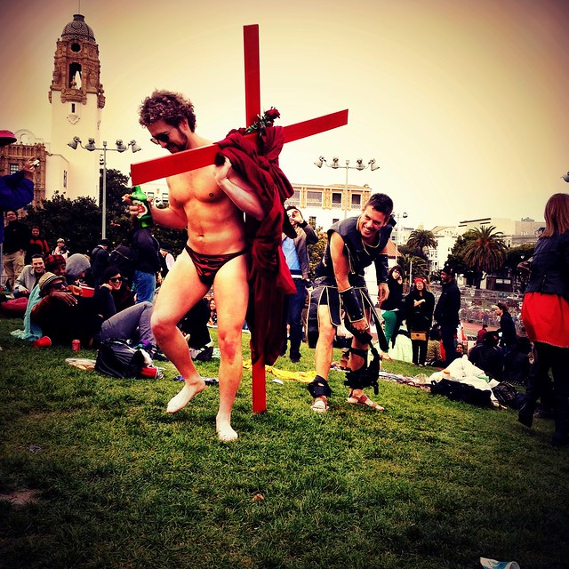 Easter in Dolores Park