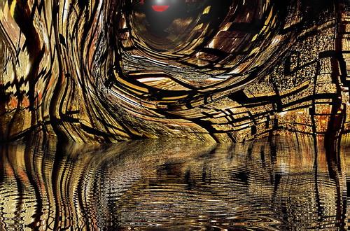 windows water spiral ripple sunspot bulge digitalmanipulation acdsee