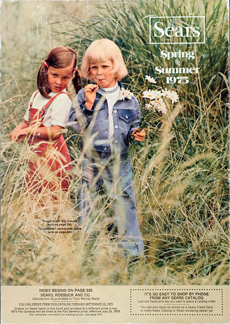 Sears Catalog Cover, Spring/Summer 1975