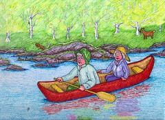 Canuck In a Canoe