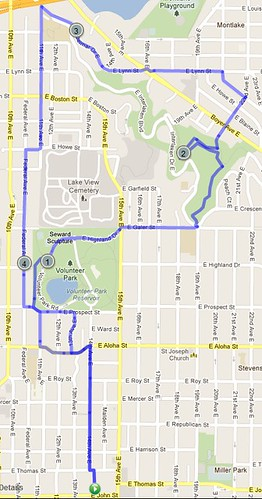Today's awesome walk, 4.94 miles in 1:37 by christopher575