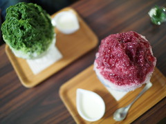Japanese Shaved Ice Dessert