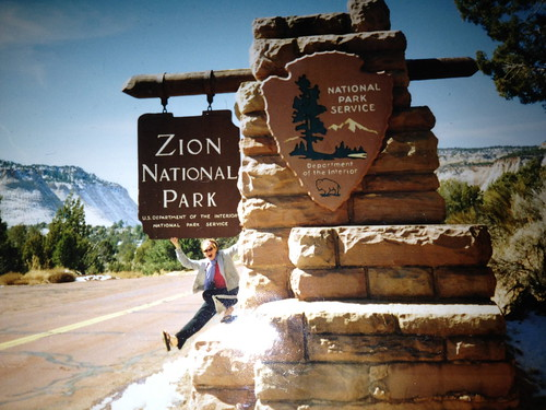 Diane Peacock at Zion National Park