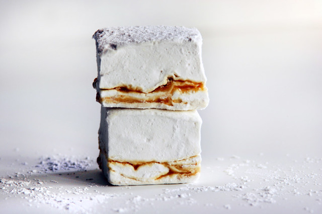caramel marshmallow straight stack