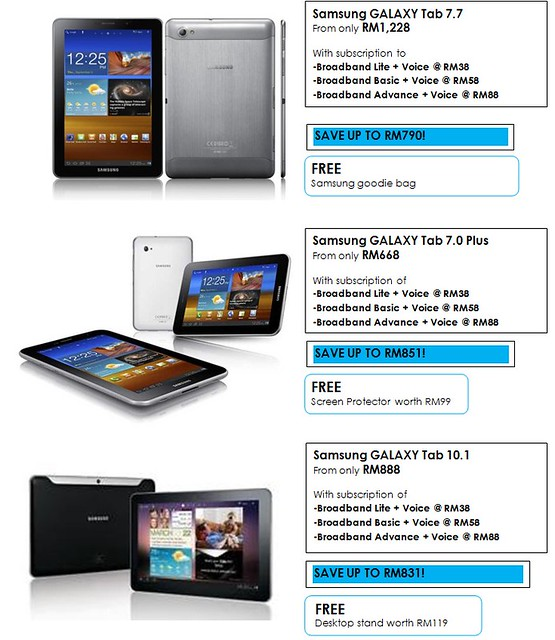 I LOVE TABLET FAIR 2012 @ GoMobile 2012, KLCC! Samsung Galaxy Tab