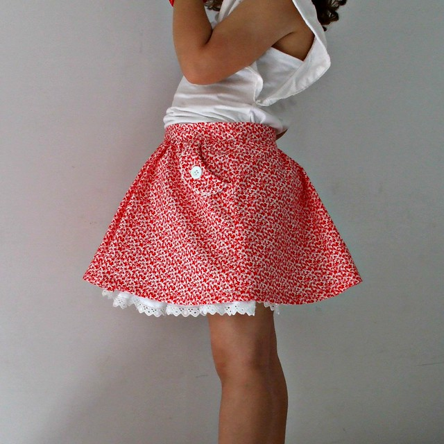 Best four year old skirt by La Inglesita
