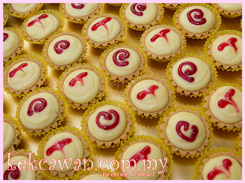 50pcs mix filling mini cheesetart