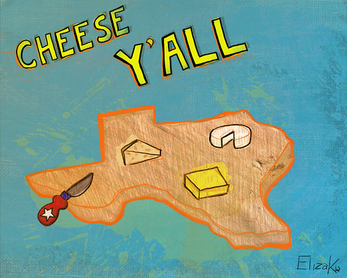 Texas Cheese plate