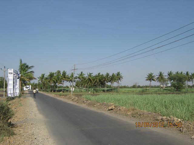 Road to Uruli Kanchan Railway Station - Visit Kanchan Vrundavan, 1 BHK & 2 BHK Flats at Koregaon Mul, near Uruli Kanchan Pune 412202