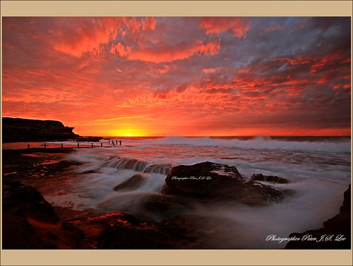 Maroubra sunrise(일출)