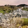 View over the historical old town Monschau by B℮n