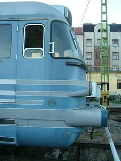 MÁV 44, Silver Arrow, Kádár-train