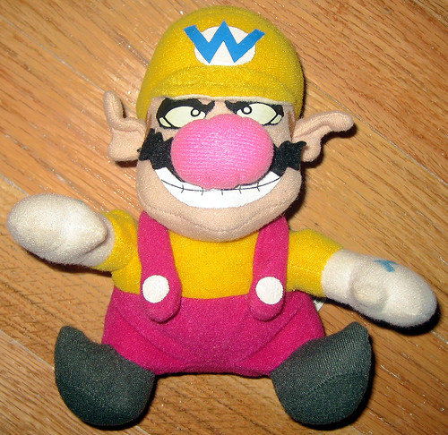 20120519 - yardsale booty - toy - doll - Wario - IMG_4188