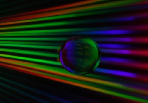 Dark Light Speed - Traveling on CD light beams