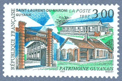 Patrimoine guyanais. Saint-Laurent-du-Maroni.