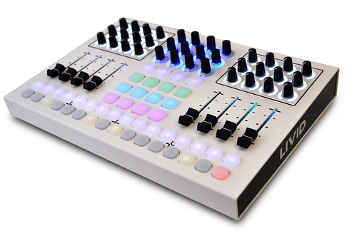 CNTRL:R White Edition by livid instruments