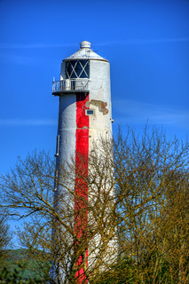 BURNHAM-ON-SEA HIGHER LIGHTHOUSE, BURNHAM-ON-SEA, SOMERSET, ENGLAND.