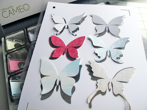 coming soon Butterfly Silhouette Studio file