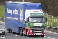Volvo FH 6x2 Tractor - PX11 BZY - Marion Netta - Eddie Stobart - M1 J10 Luton - Steven Gray - IMG_8178