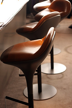 chairs at ciel de paris