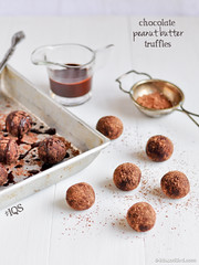 No-sugar Chocolate Peanut Butter Truffles