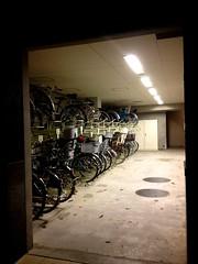 20130428 東京玩第二天 350 sky tree 東京スカイツリー 夜景 腳踏車 駐車廠