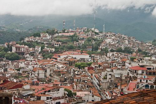 Vista de Taxco desde Ojeda