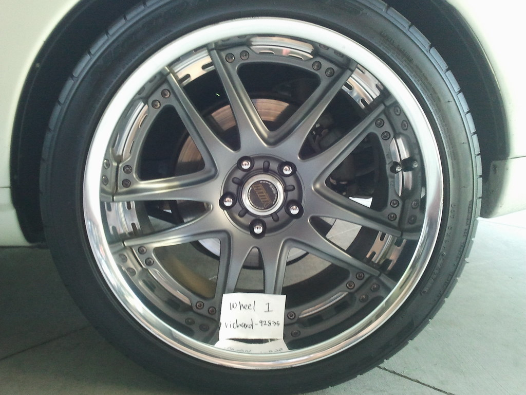 FS/WTT: [Socal]: Gunmetal Volks GT-V 19x9.5 +30 & 19x10.5 +24 with Nitto Tires!