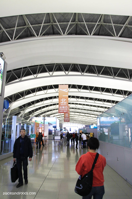 kansai international airport interior