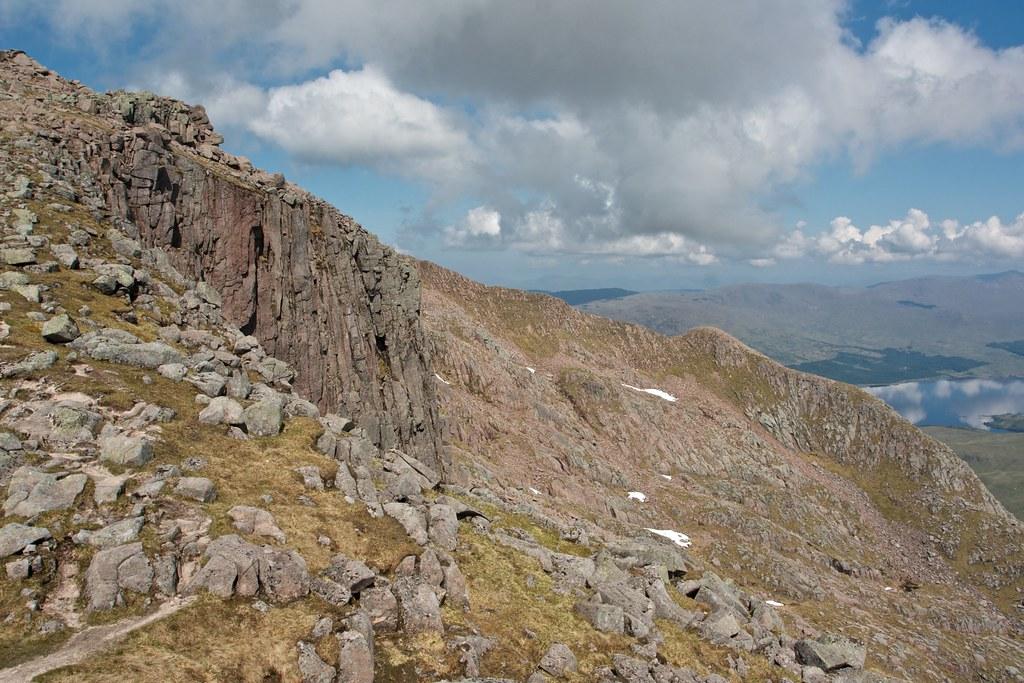 Crags on the Cruachan ridge