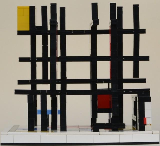Mondrian's Cube: Left