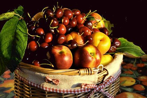 Frutta nel cesto by Melisenda2010