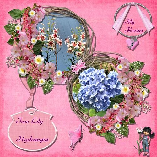 LO Bingo kit. Pink Flower.灪gꕅ璳圮幭㭂⪋鄠.맬.賐