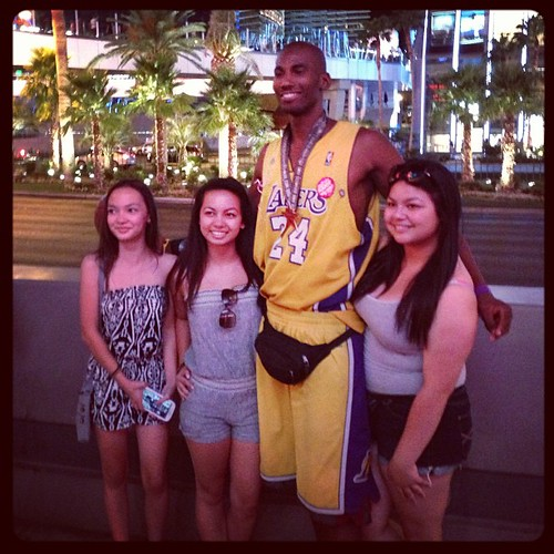 Kobe Bryant impersonator in Las Vegas - 2013 NBA Summer League