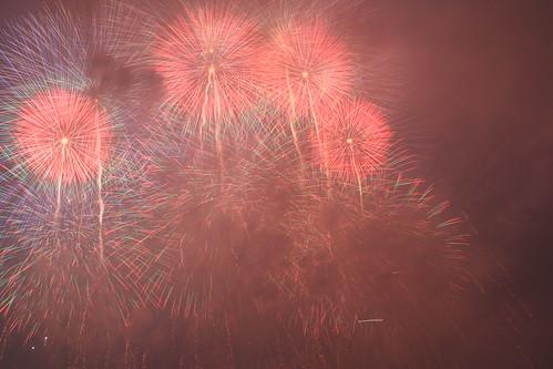 the 28th Kanagawa Shimbun Fireworks Festival 49